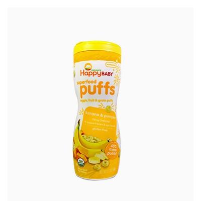 유기농 퍼프 바나나 호박 60g