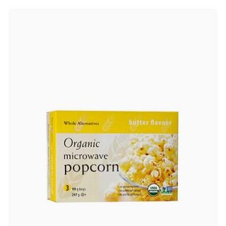 유기농 전자렌지용 팝콘(버터향) 298g (99gx3ea)