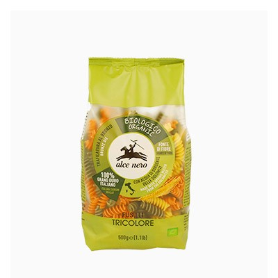 유기농 파스타 삼색 푸질리 250g